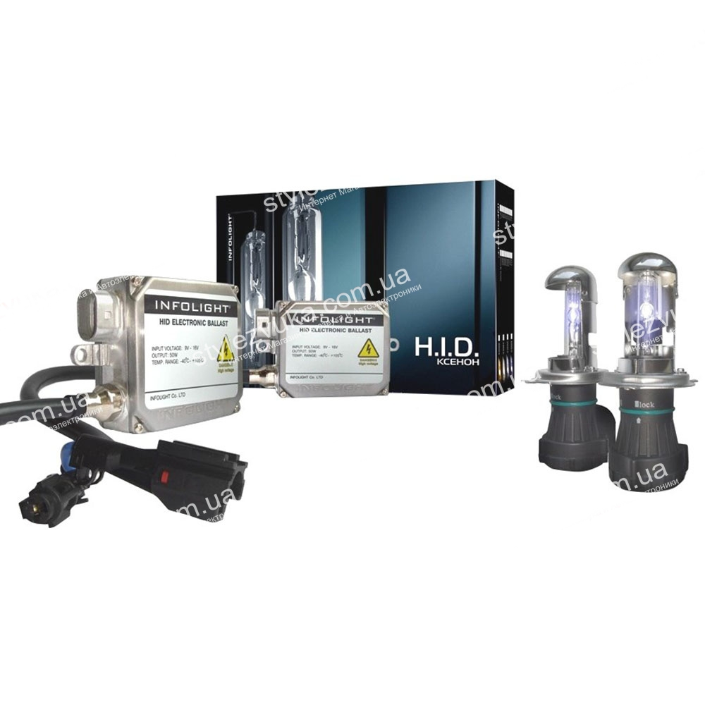 Комплект биксенона Infolight Expert H4 4300K