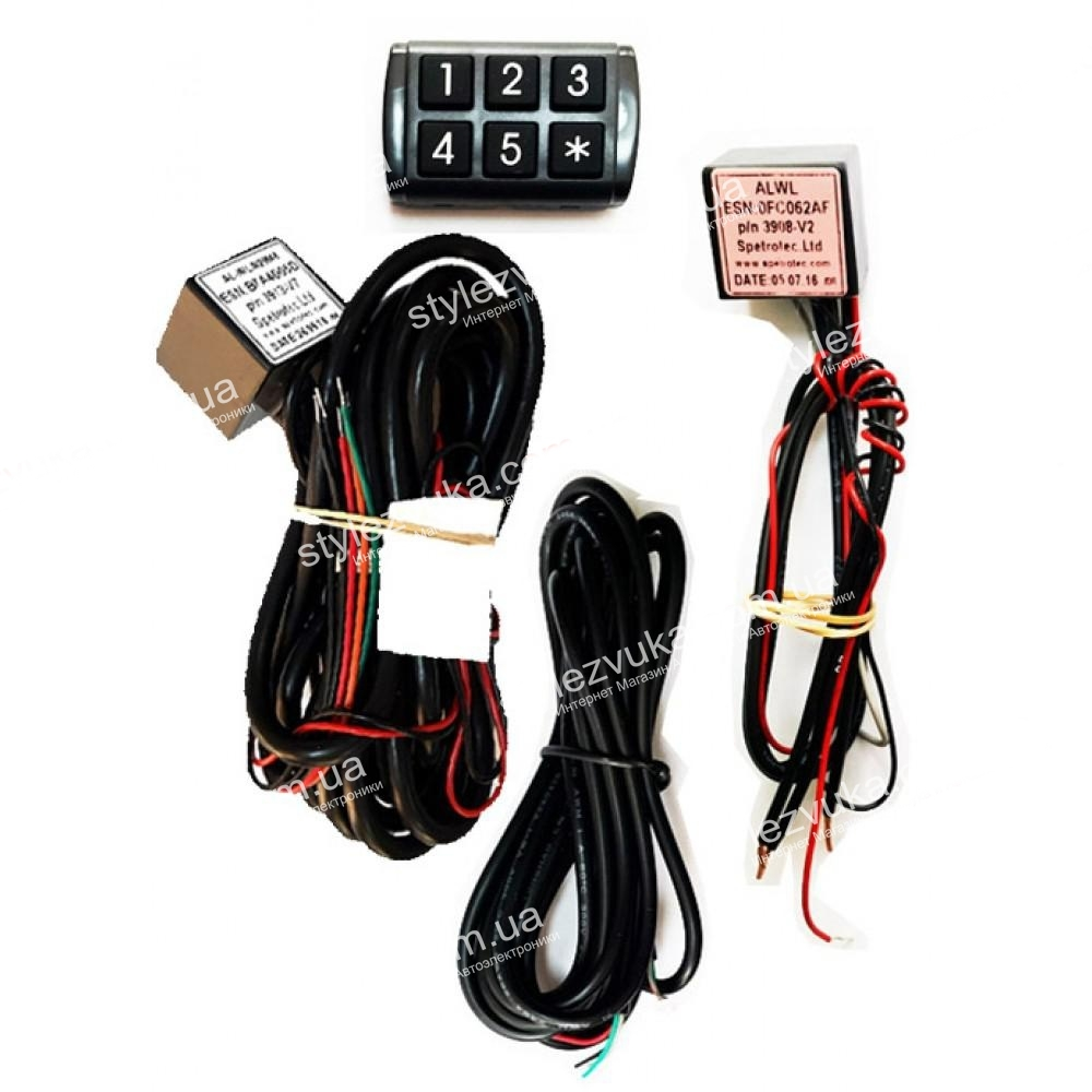 Иммобилайзер SPETROTEC SA14 keypad_3х2
