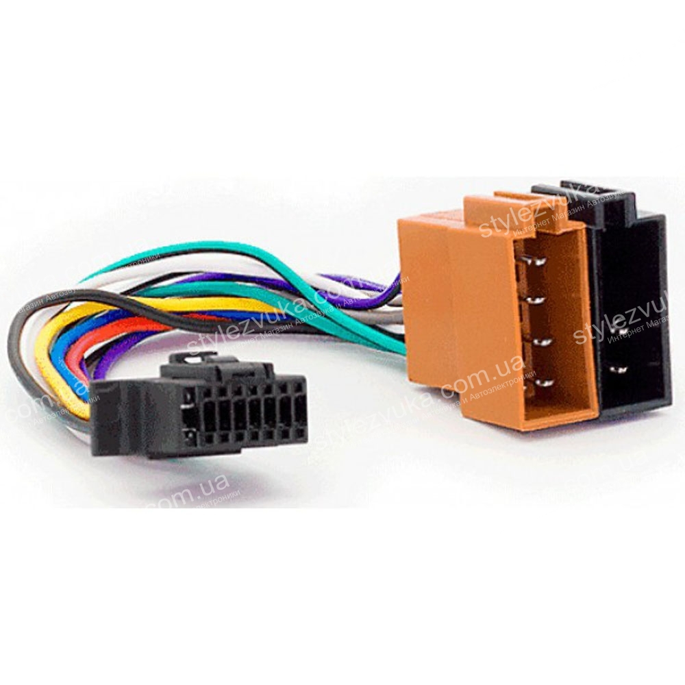 Разъем для магнитолы Sony Carav 15-110