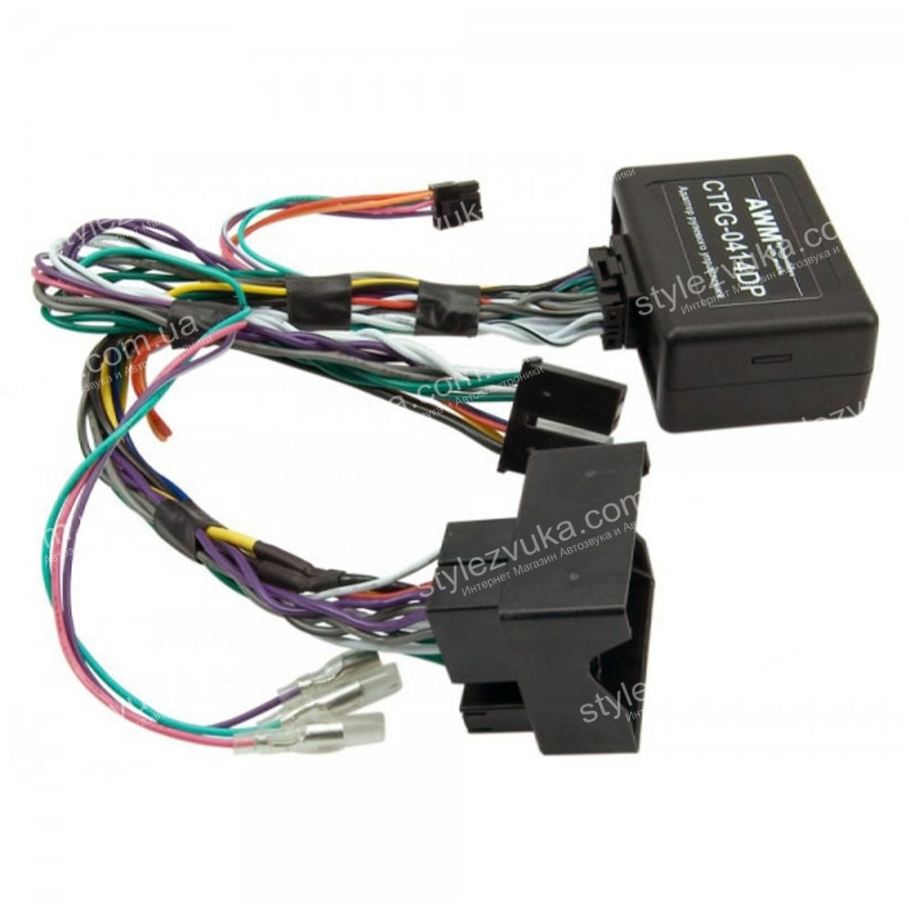 Адаптер кнопок на руле для Citroen, Peugeot AWM CTPG-0414DP