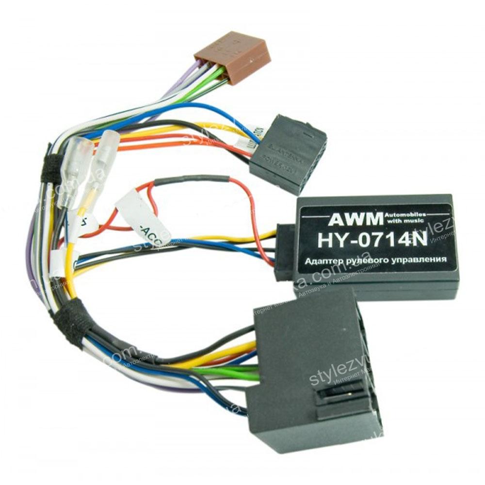 Адаптер кнопок на руле для Hyundai i30 AWM HY-0714N