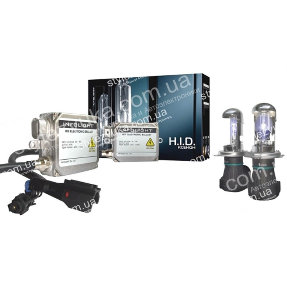 Комплект биксенона Infolight Expert H4 5000K