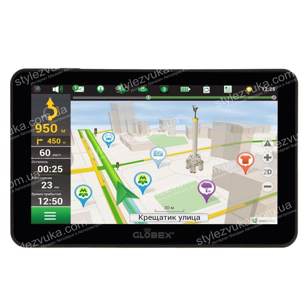 GPS навигатор Globex GE711 (Навител)