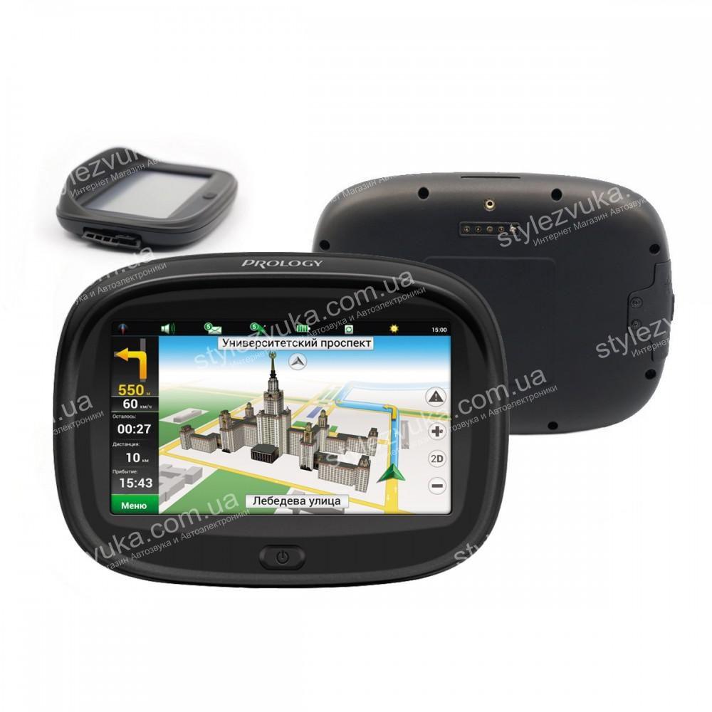 Мотоциклетный GPS навигатор Prology iMAP MOTO (Навител)