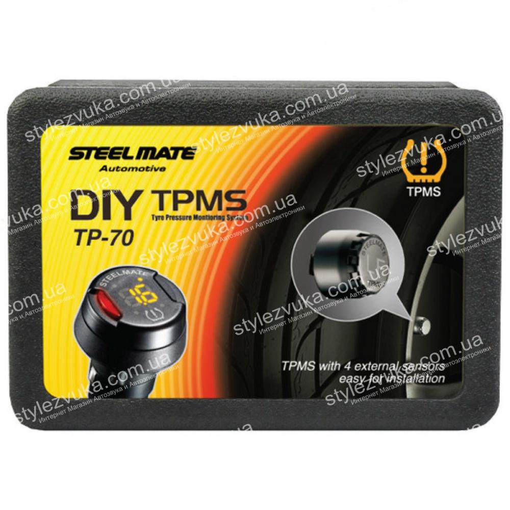 Система мониторинга давления и температуры в шинах STEEL MATE - DIY TP-70
