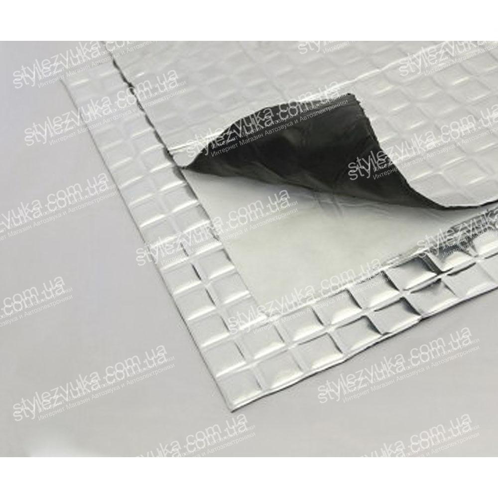 Виброизоляция FANTOM Batoplast Premium 3,5мм (600x600)