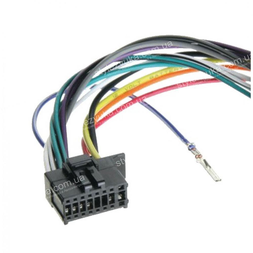 Разъем для магнитолы Pioneer ACV 453023/1 без ISO