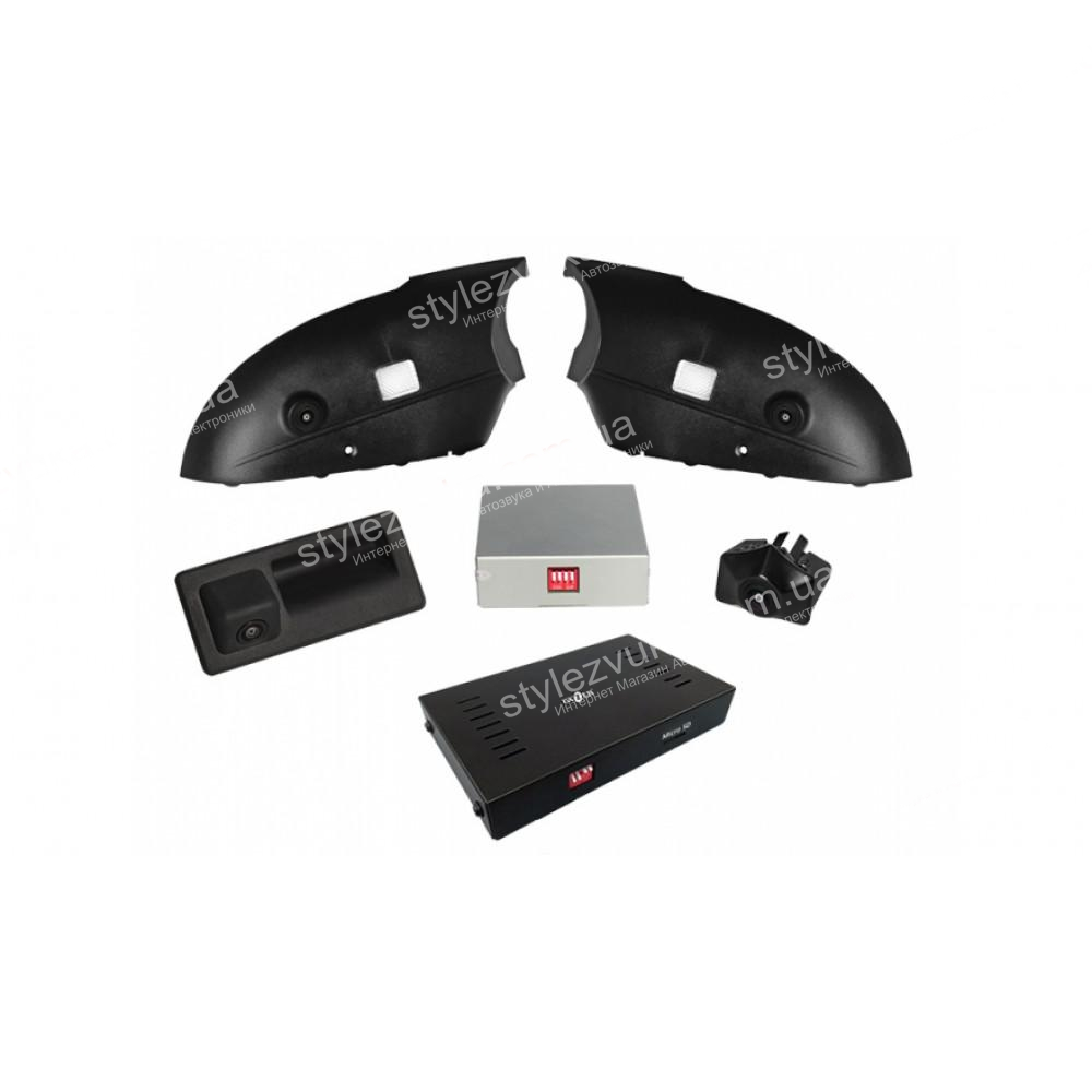 Система кругового обзора для штатной установки Gazer CKR4413-C7 (Audi A6)