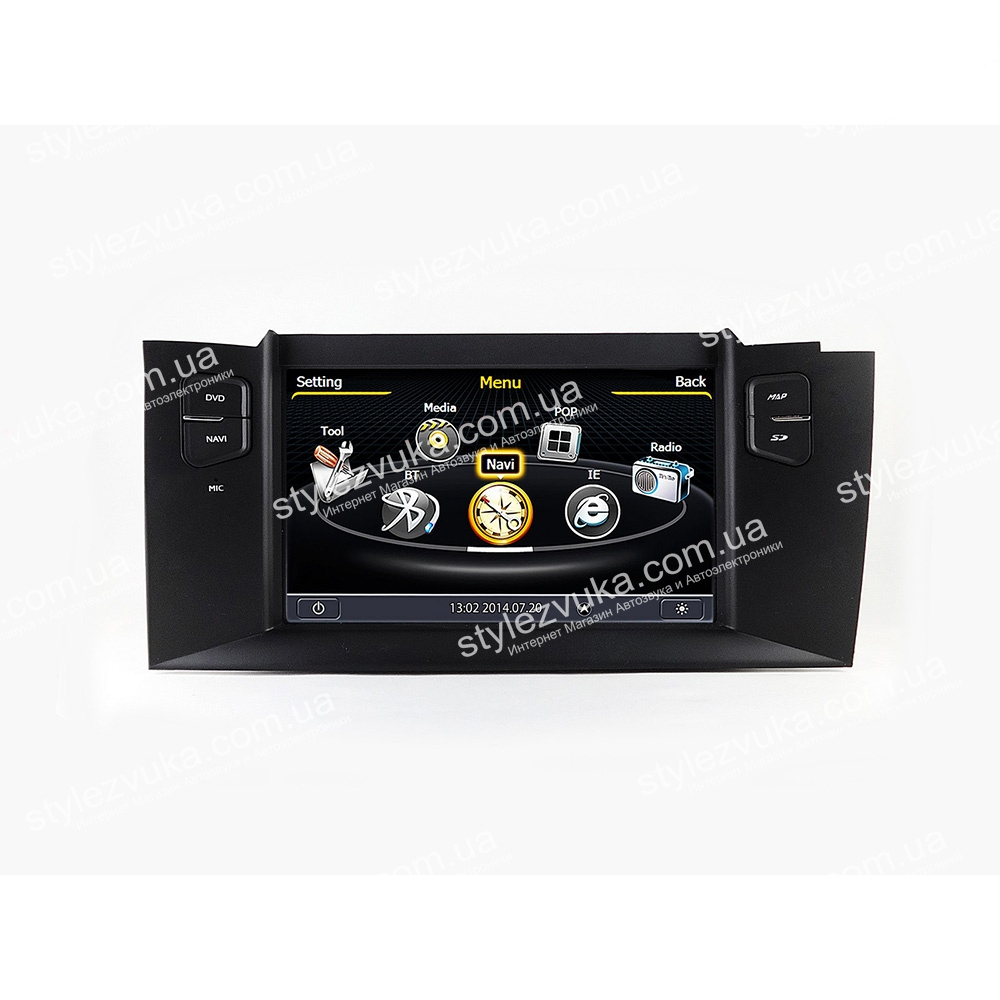 Штатная Автомагнитола  EasyGo S136 (Citroen C4) S100
