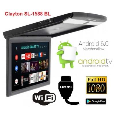 Потолочный монитор Clayton SL-1588 BL Android