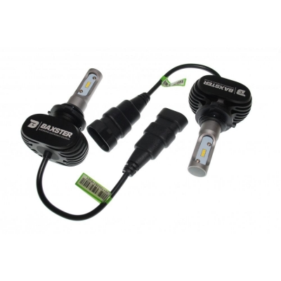 LED лампа Baxster S1 HB4 (9006) 6000K 4000Lm (2 шт)