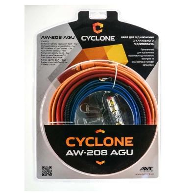 Набор для подключения усилителя Cyclone AW-208 AGU