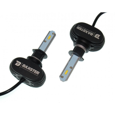 LED лампа Baxster S1 H1 6000K 4000Lm (2 шт)