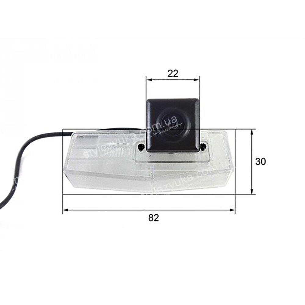 Штатная камера заднего вида в плафон CCD Falcon SC92HCCD-170-R  2