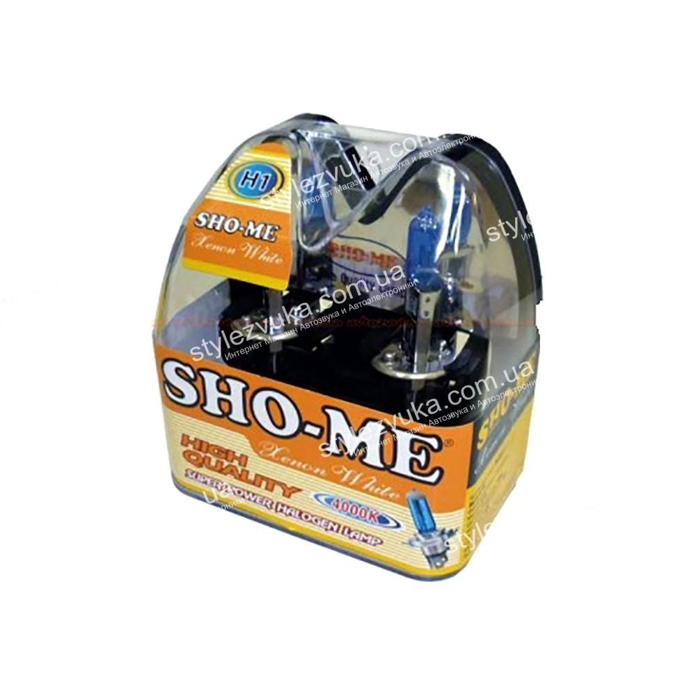 Галогеновая лампа Sho-Me H1 4000K 3