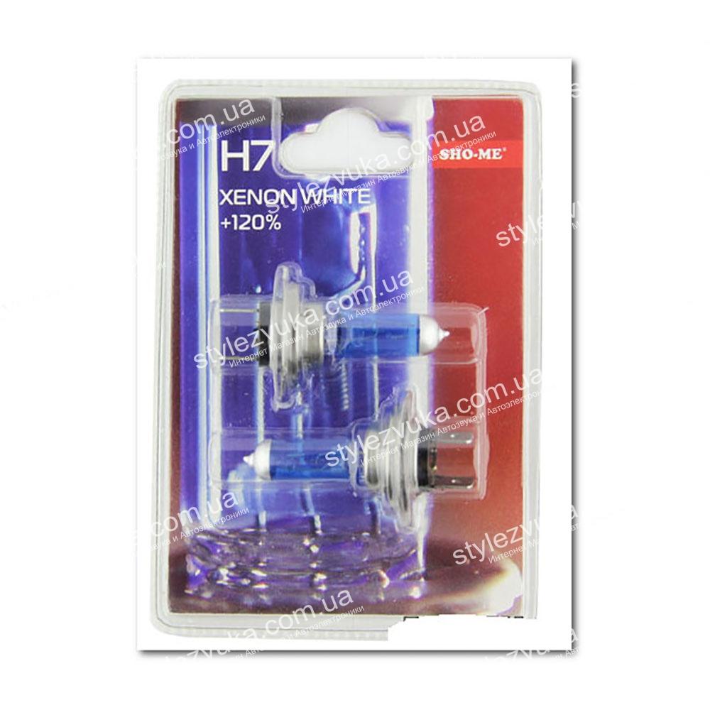 Галогеновая лампа Sho-Me H7 4300K +120  2