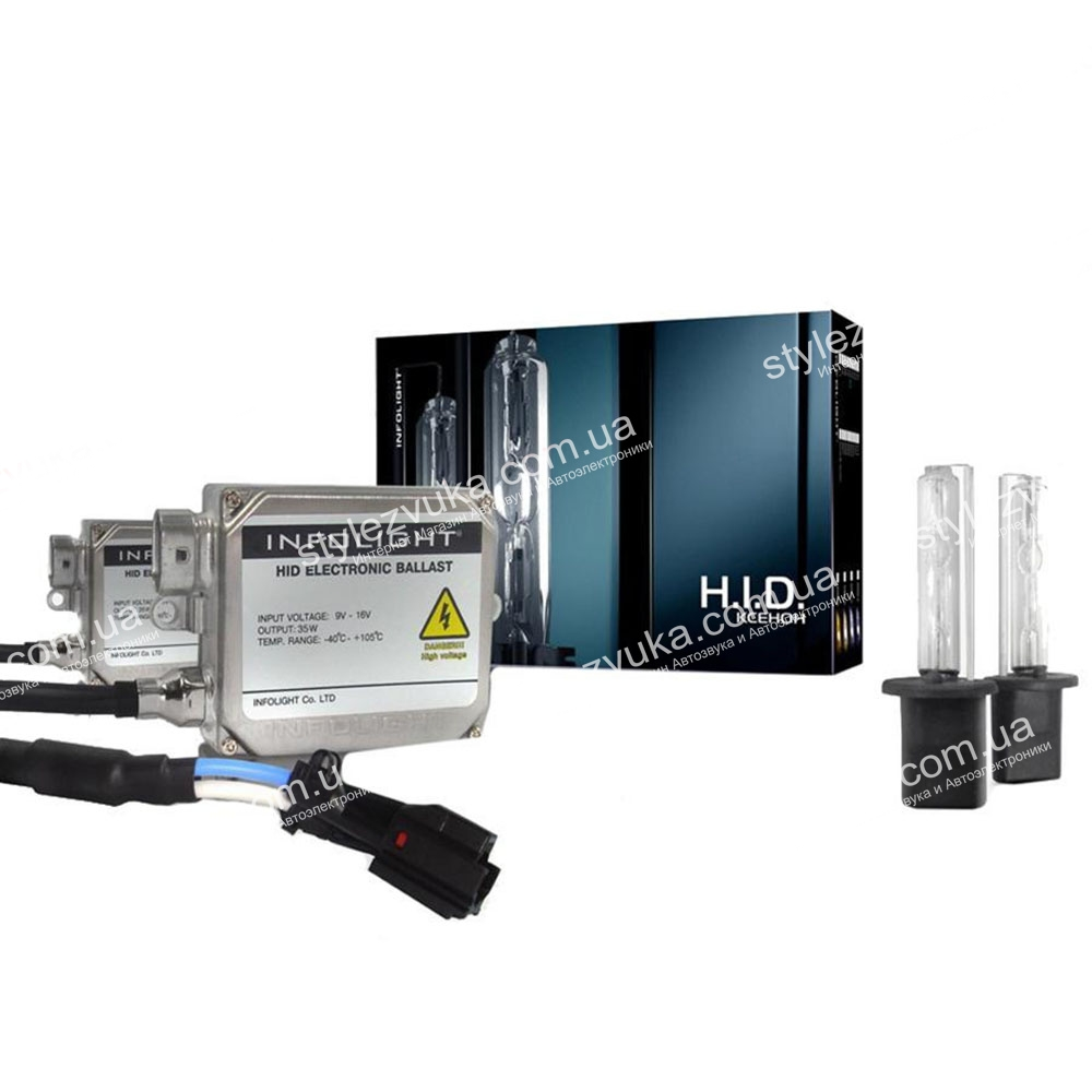 Комплект ксенона Infolight HB3 9005 6000К 50W+обманка 2