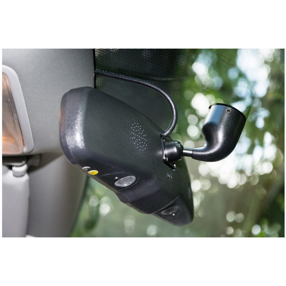 Штатное автомобильное салонное зеркало заднего вида с монитором 4,3? Phantom RMS-430-12 CITROEN, LADA, MERCEDES-BENZ, NISSAN, PEUGEOT, RENAULT 2