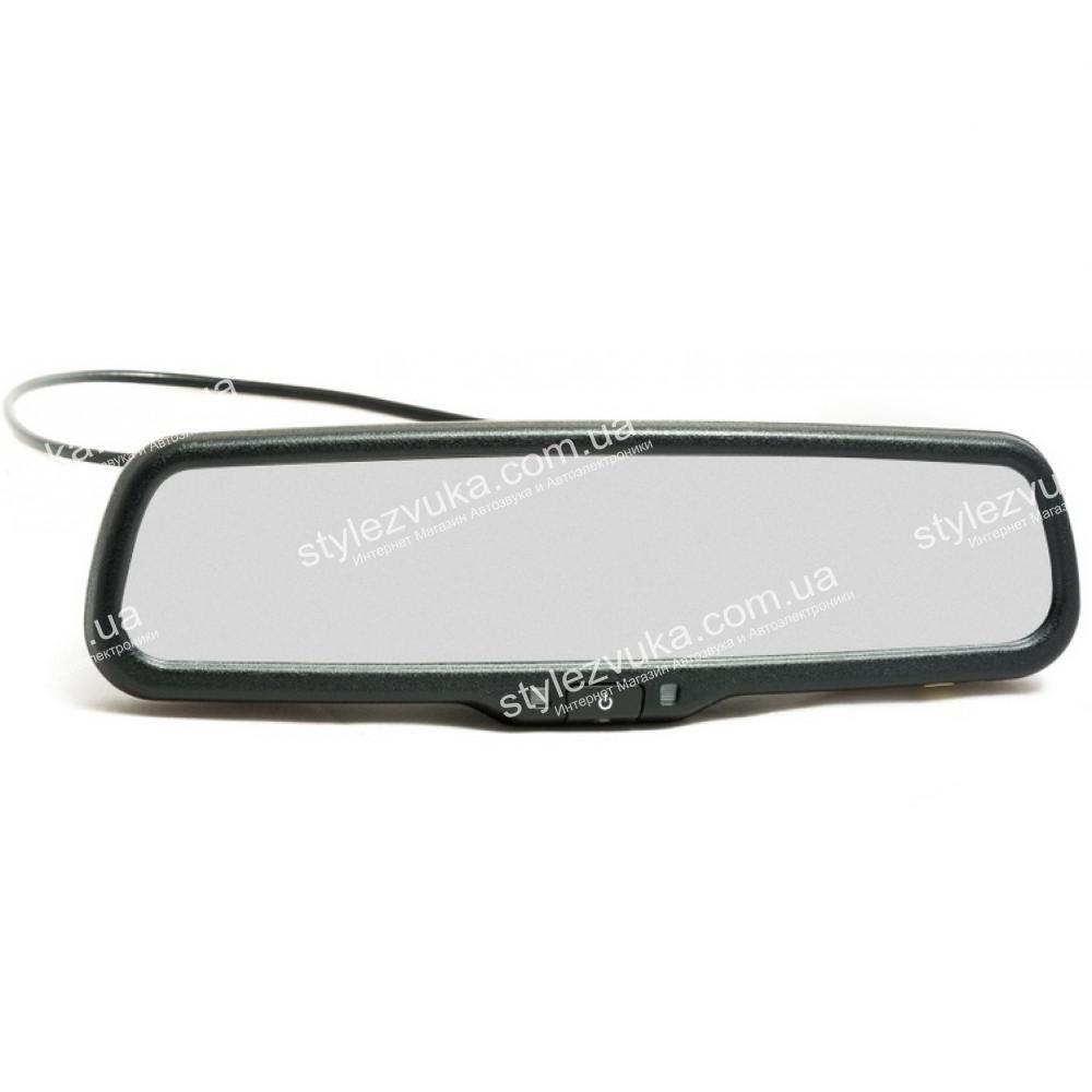 Штатное автомобильное салонное зеркало заднего вида с монитором 4,3? PHANTOM RMS-430-30 PORSCHE 2