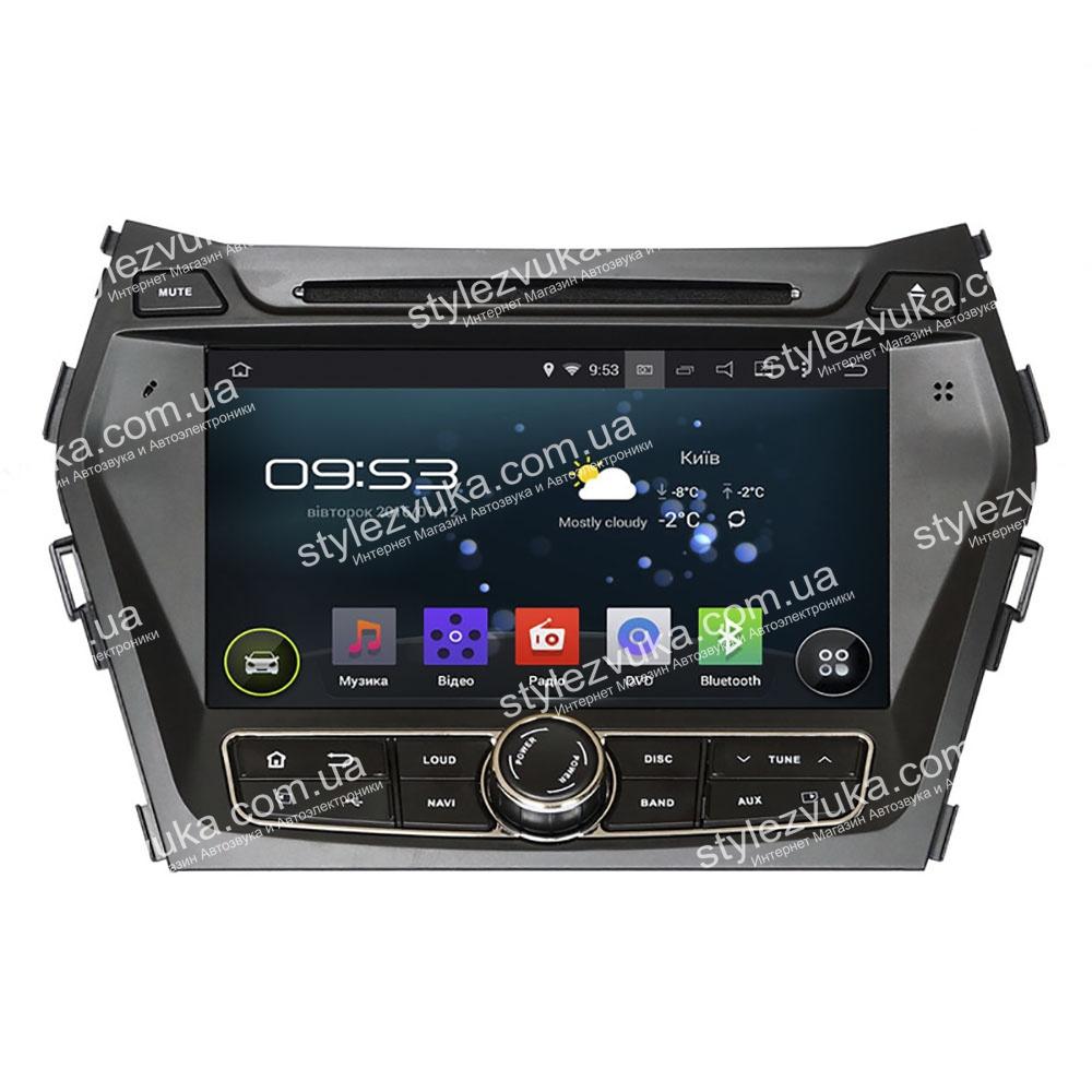 Штатная Автомагнитола Incar Hyundai Santa Fe IX45 2013+ (AHR-2483) 3