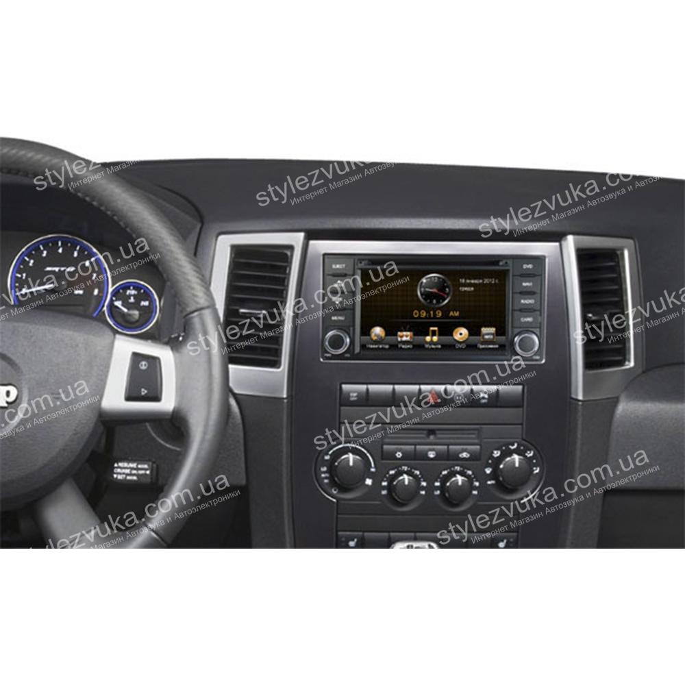 Штатная Автомагнитола RoadRover Jeep 2007+ 3