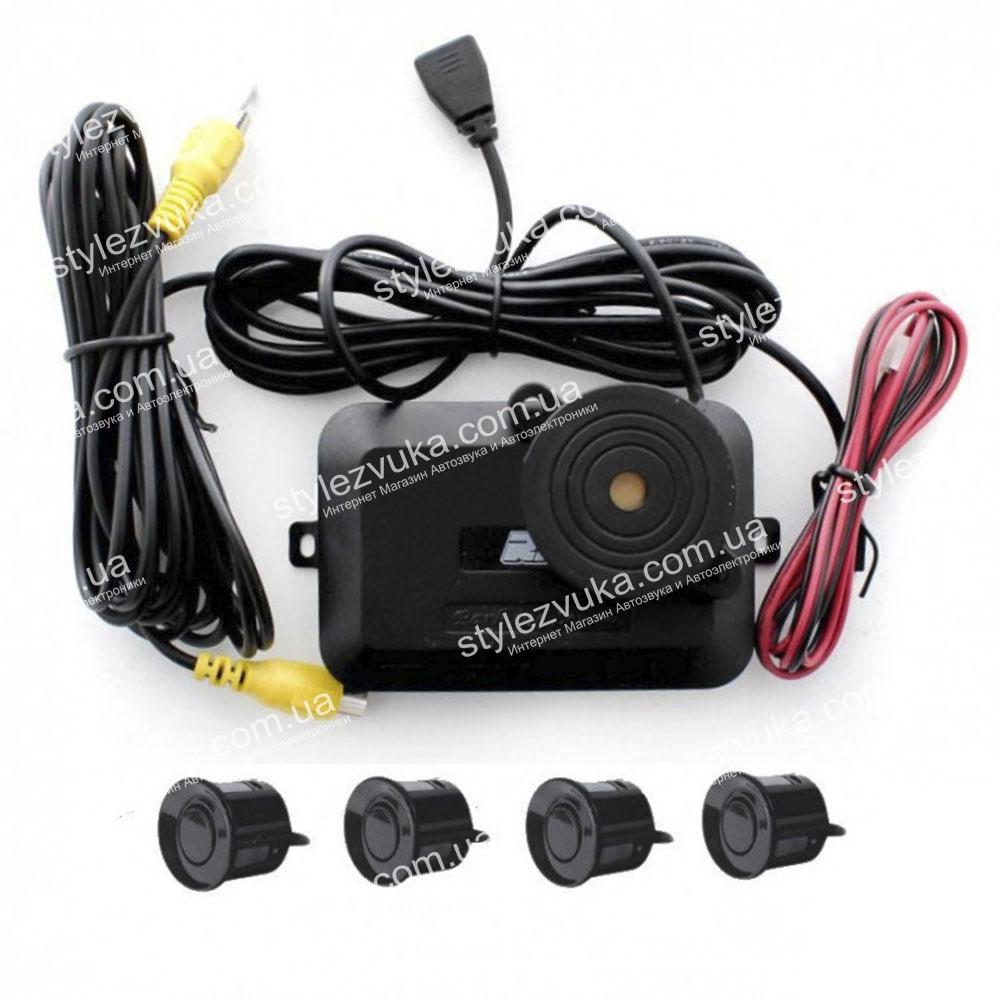 Парковочный радар RS LV18 black 3