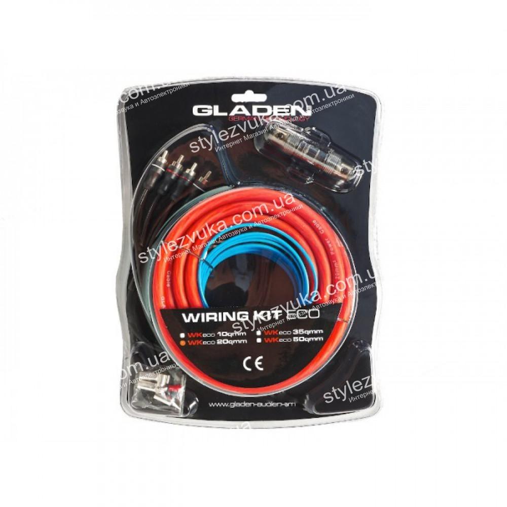 Набор кабелей GLADEN ECO LINE WK 20 (2 канала) 3