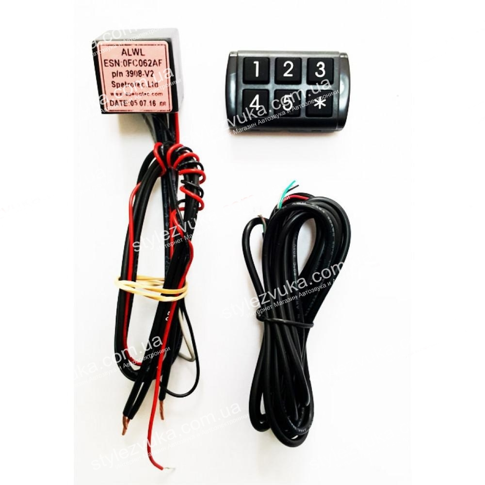 Иммобилайзер SPETROTEC SA11 keypad_3х2 2