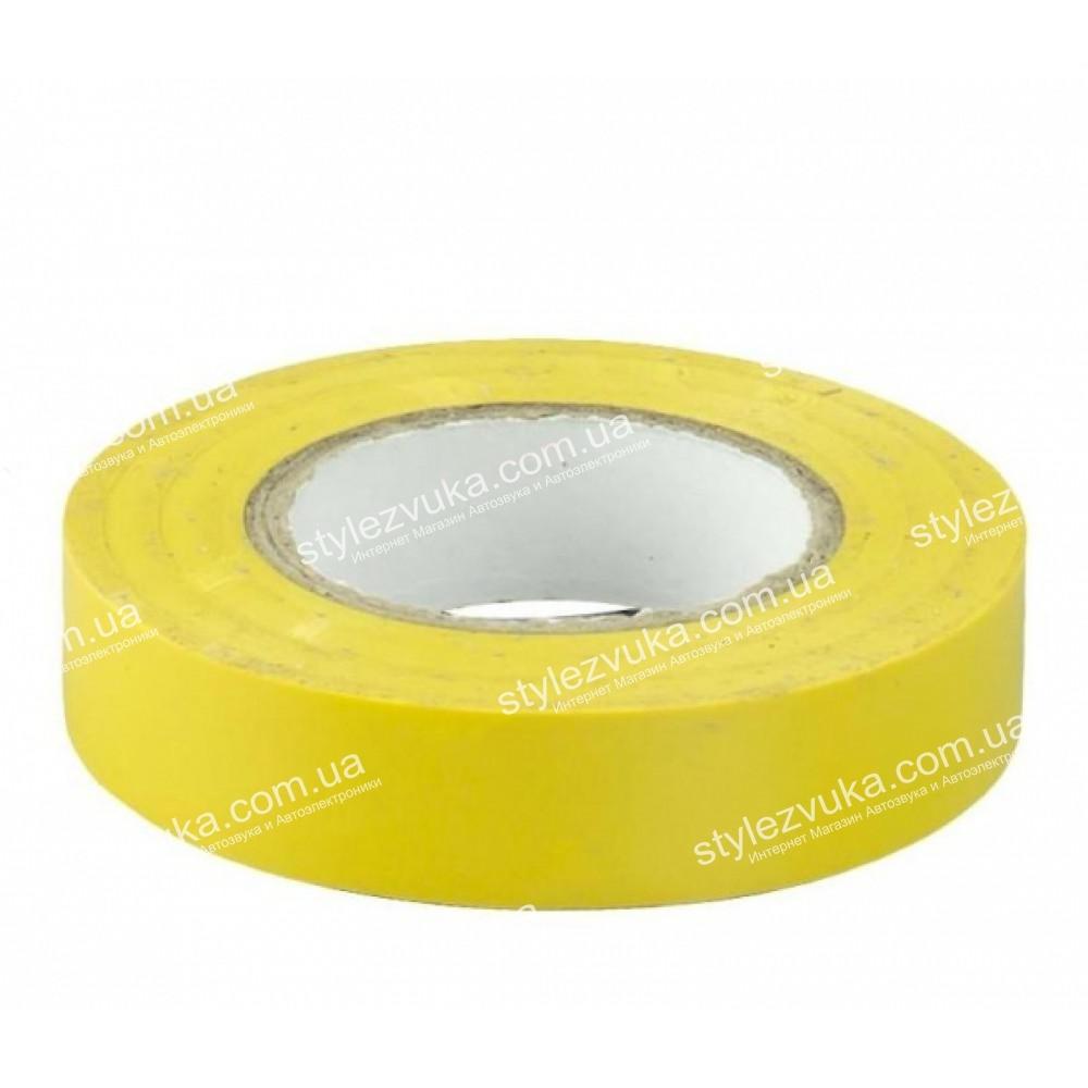 Изолента 3M желтая 2