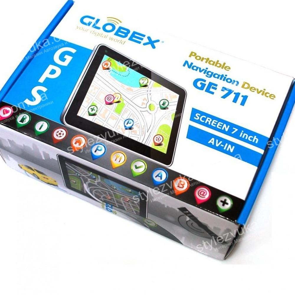 GPS навигатор Globex GE711 2