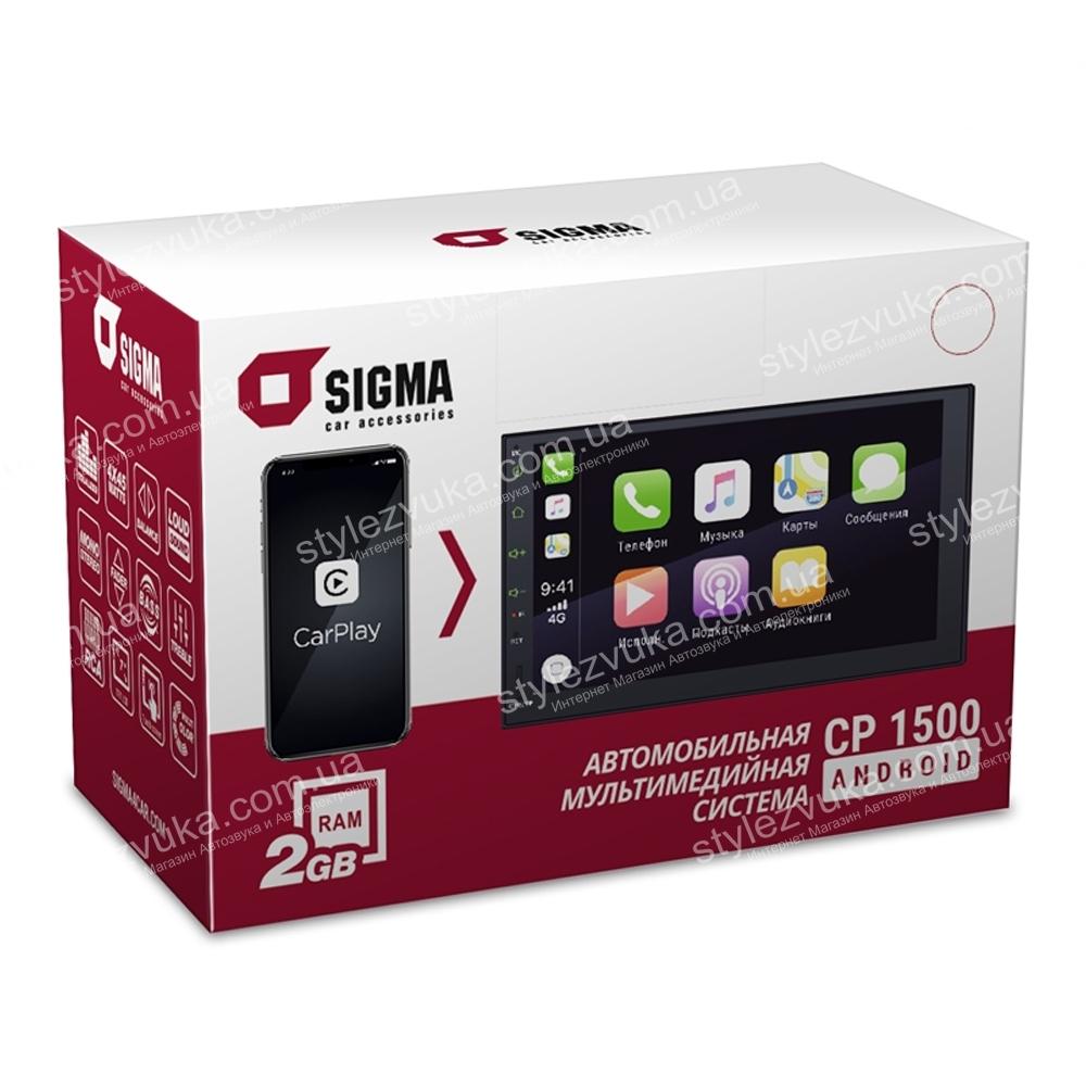 Мультимедийный центр SIGMA CP-1500 Android CarPlay 3