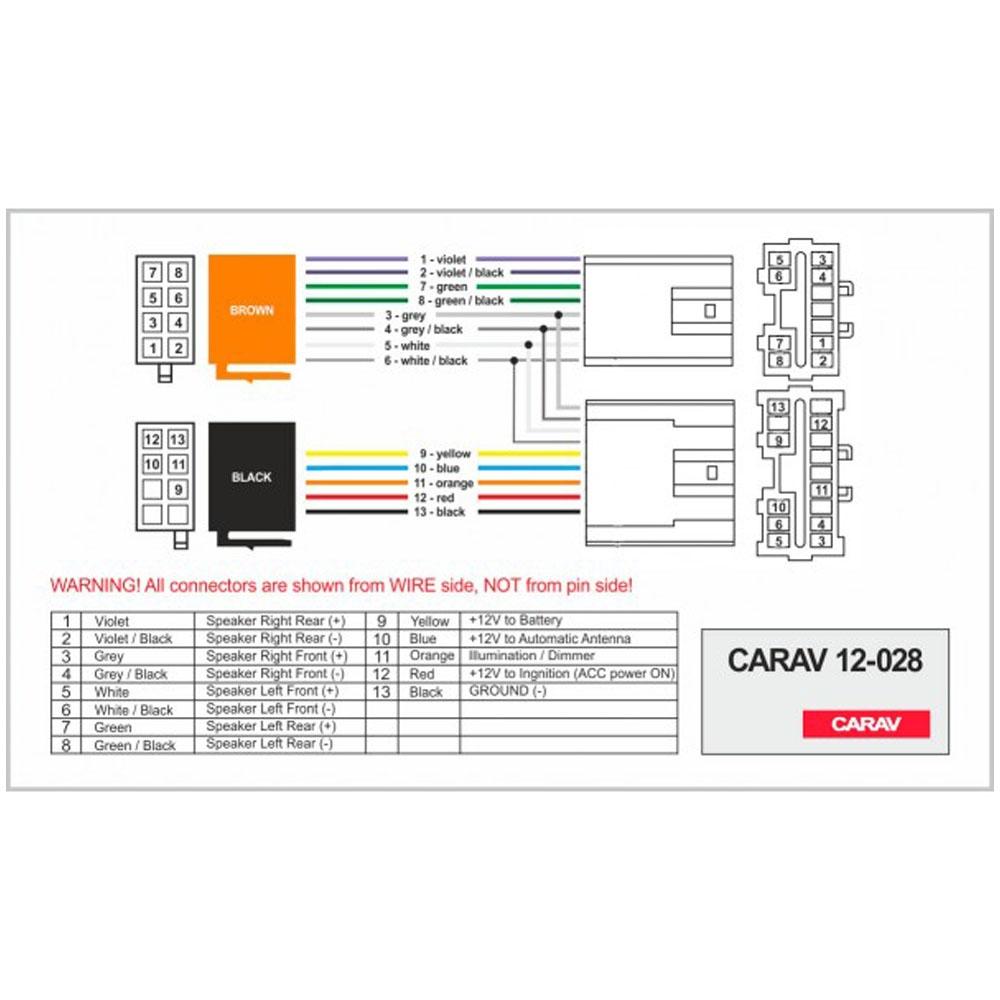 Переходник ISO Volvo Carav 12-028 3