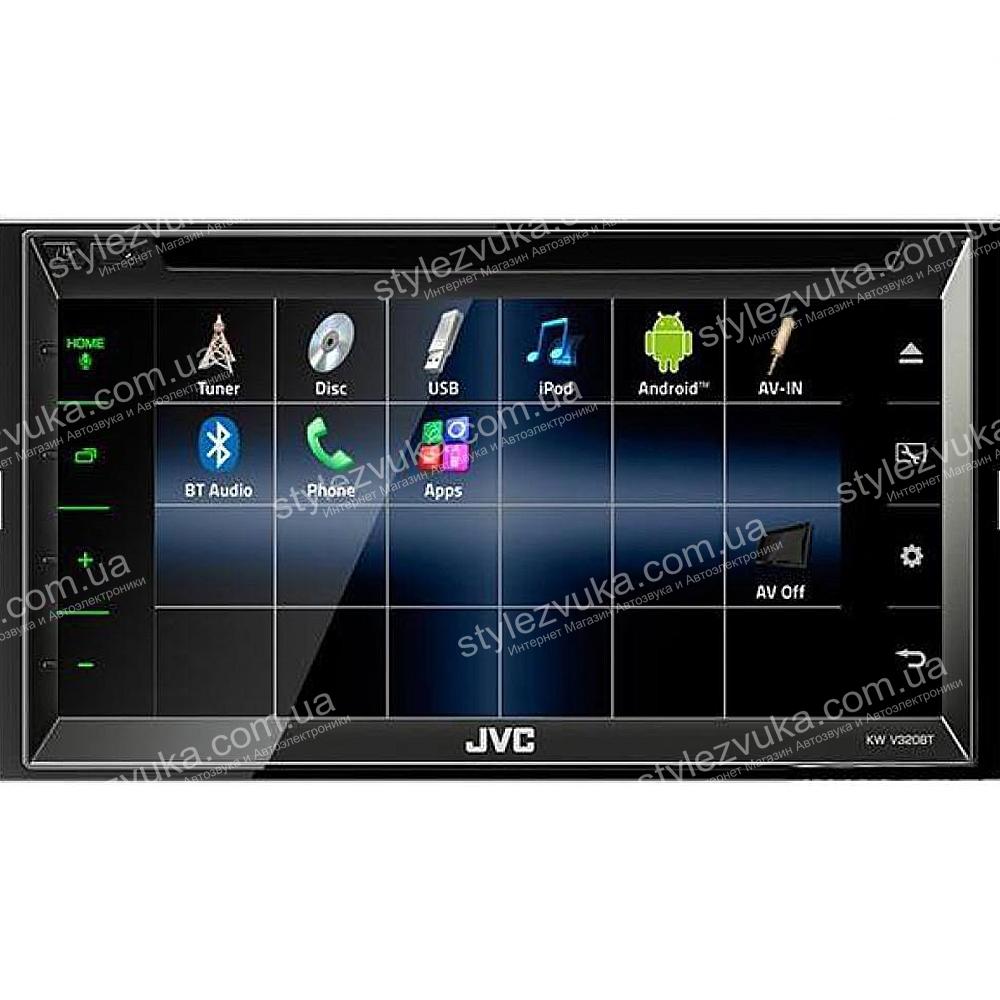 Мультимедийный центр JVC KW-V320BTQN 3