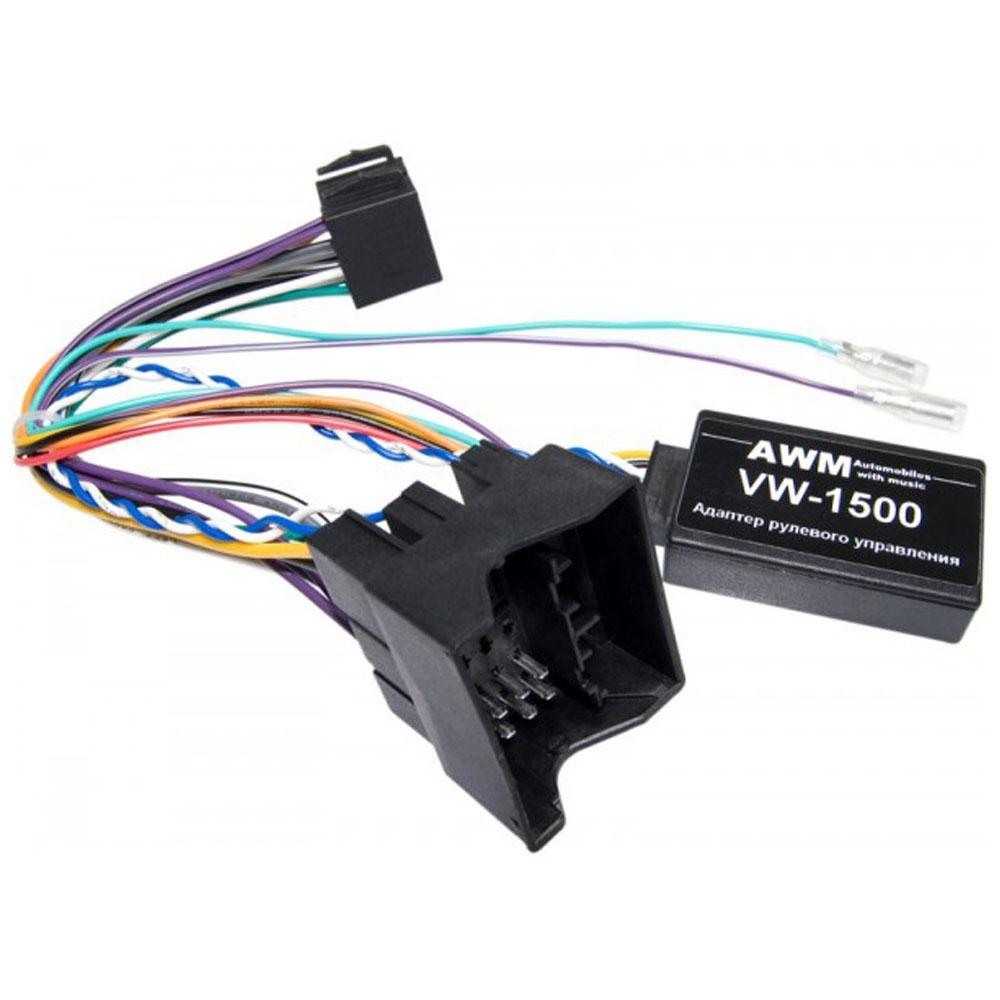 Адаптер кнопок на руле для Volkswagen AWM VW-1500 2