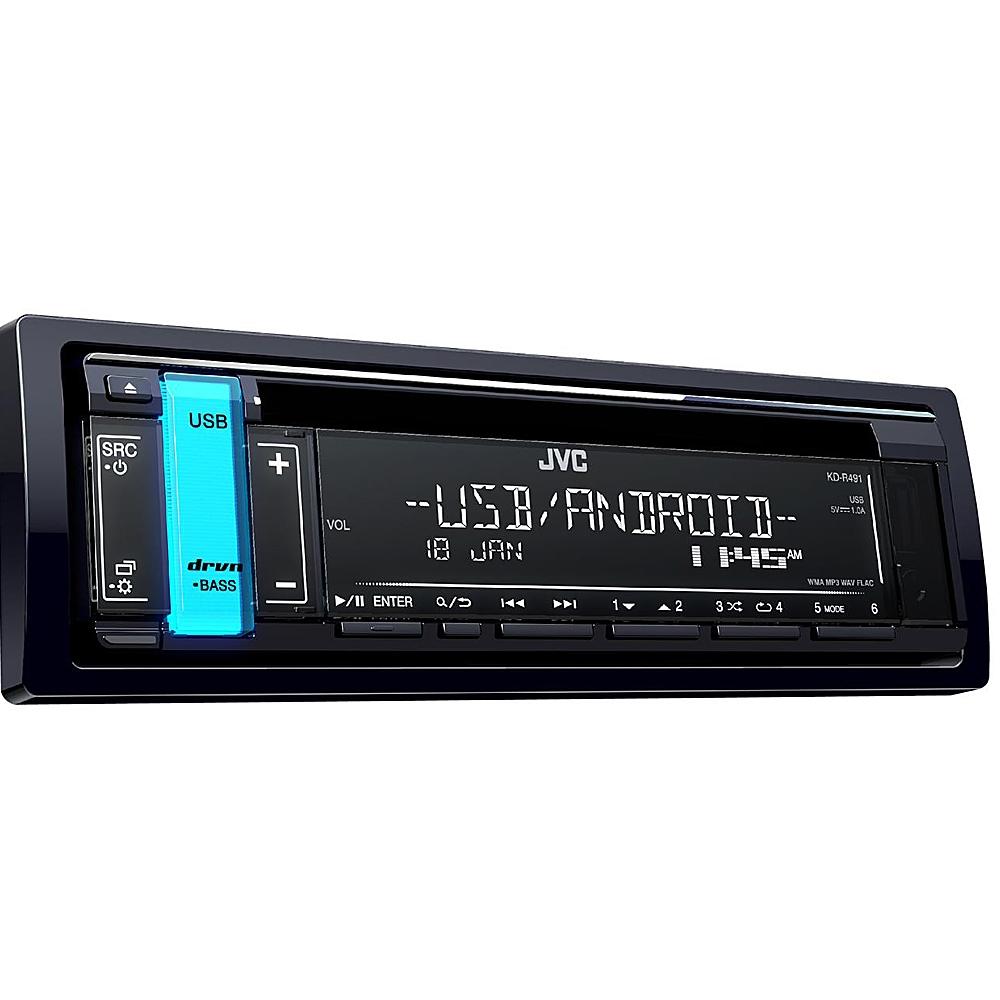 Автомобильный ресивер JVC KD-R491 2