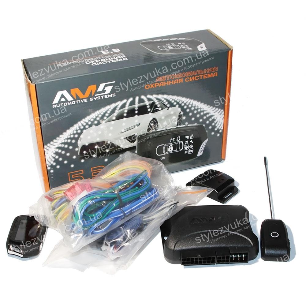 Автосигнализация AMS 5.1 2