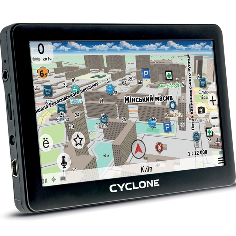GPS навигатор CYCLONE ND 430 3