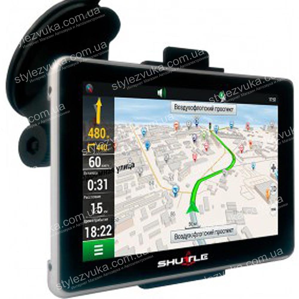 GPS навигатор SHUTTLE PNA-5019 3