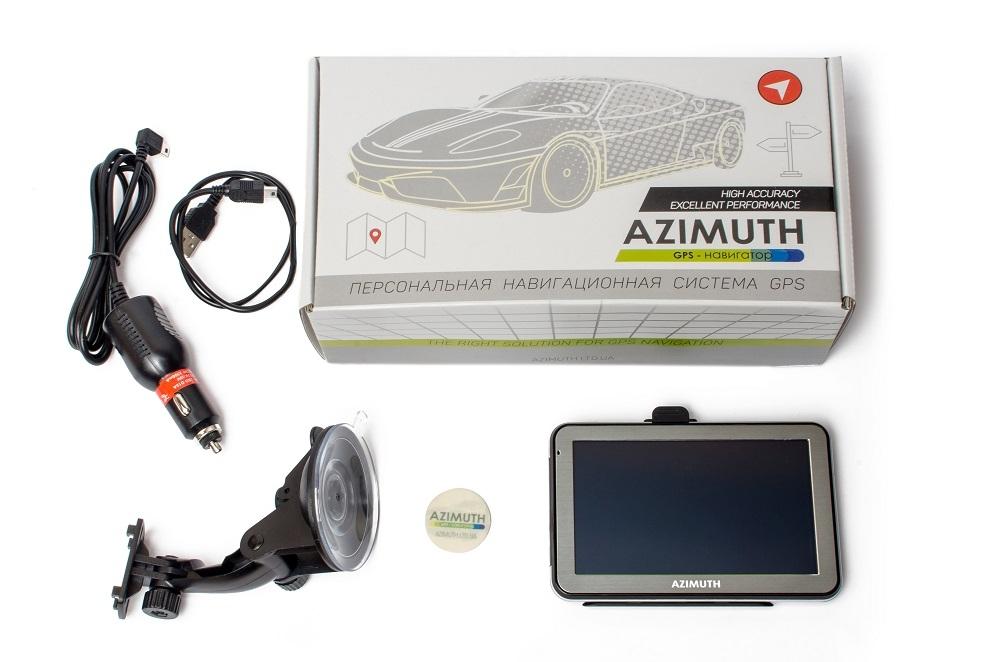 GPS навигатор Azimuth B57 2