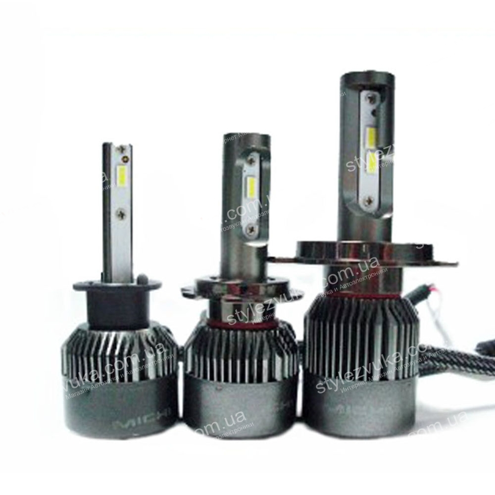 Светодиодная LED лампа Michi MI LED HB4 (9006) 5500K 3
