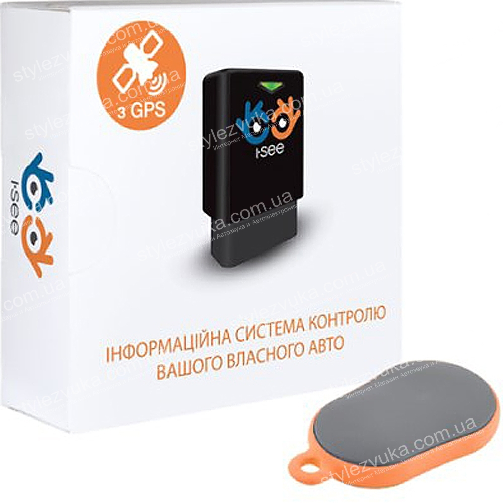 I-SEE трекер GPS + брелок 3