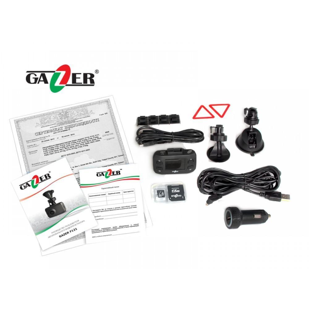 Видеорегистратор Gazer F121g 2