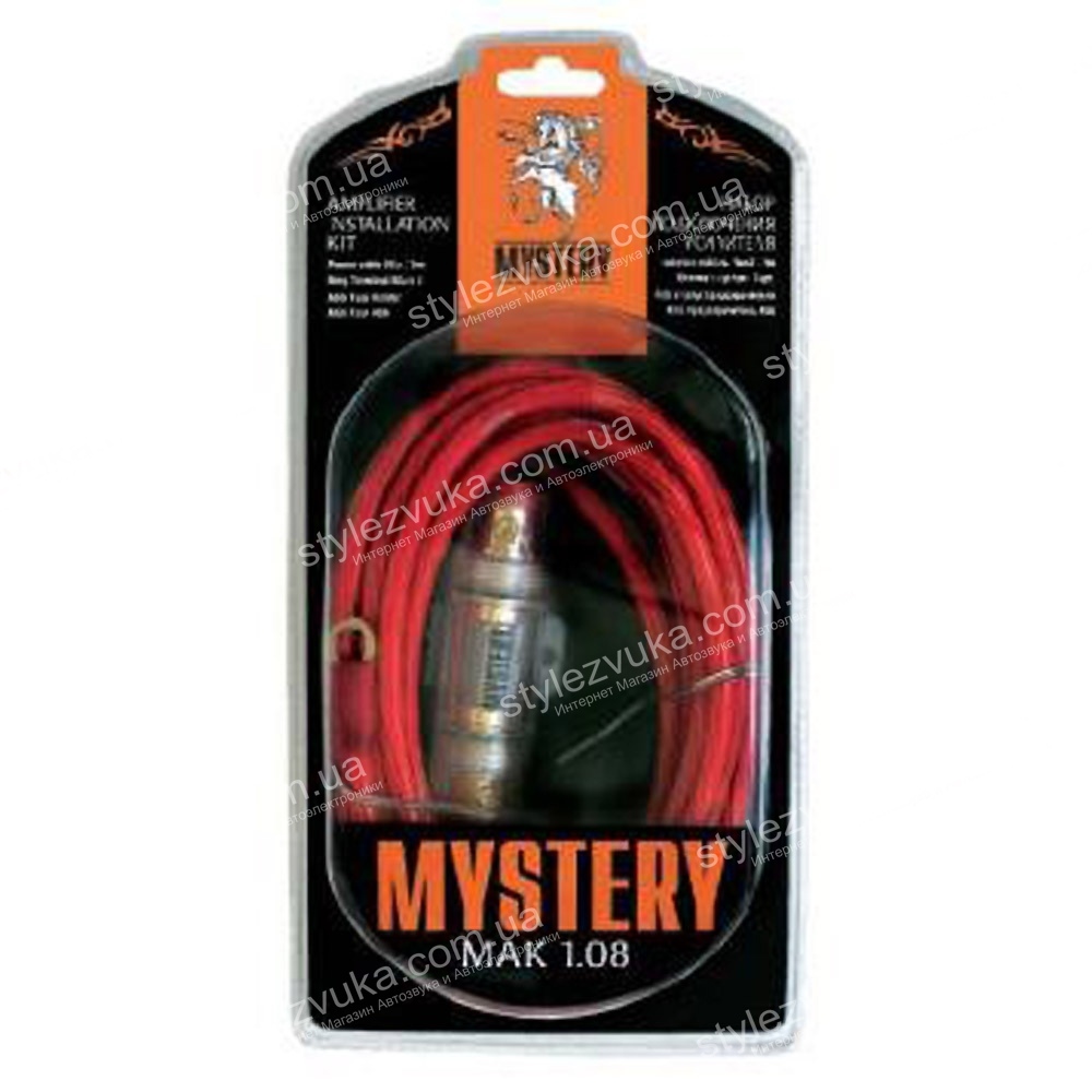 Набор кабелей MYSTERY MAK 1-08 (2 канала) 3