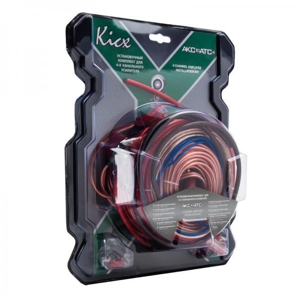 Набор для подключения усилителя Kicx AKC10ATC4 2