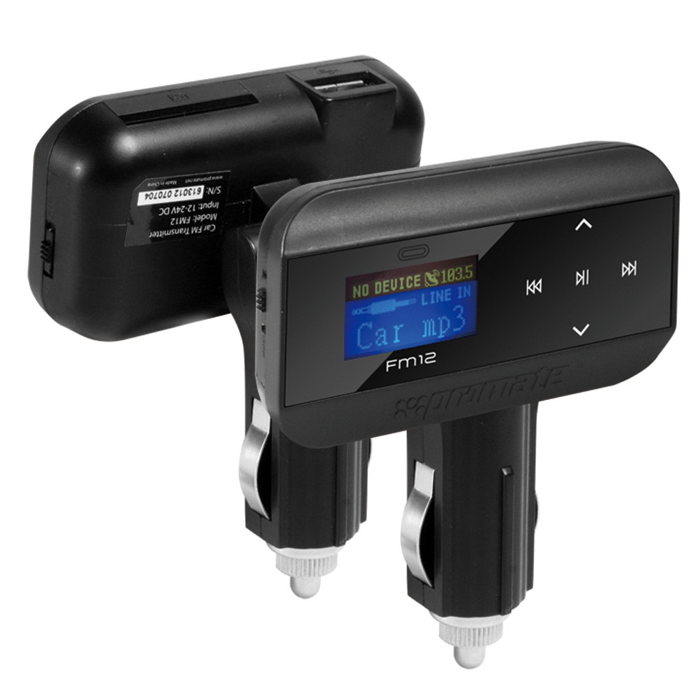 FM Трансмиттер Promate FM12  2