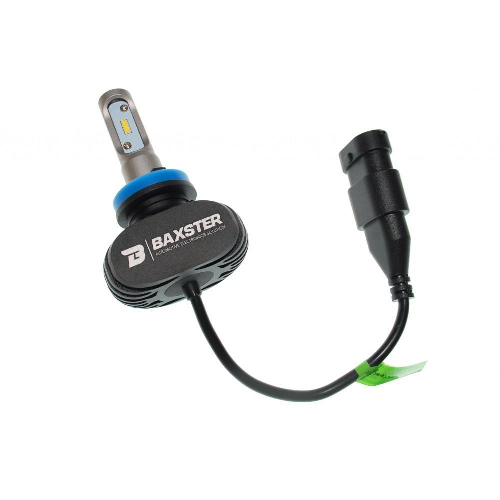 LED лампа Baxster S1 H11 6000K 4000Lm (2 шт) 3