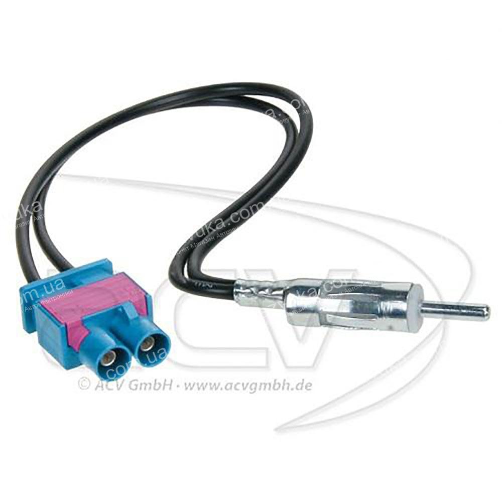 Антенный адаптер Audi, Seat, Skoda, Volkswagen ACV 1524-09 DIN (без сепаратора) 3