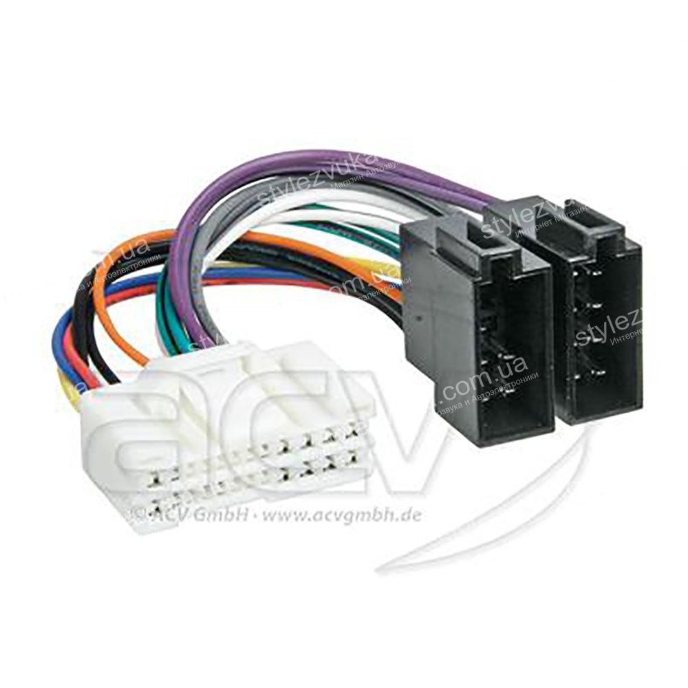 Переходник ISO Hyundai, Kia ACV 321180-02 2