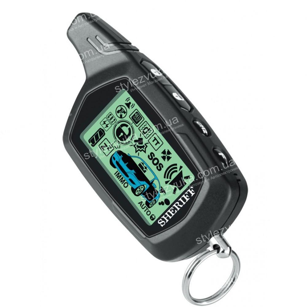 Брелок-пейджер для сигнализации Sheriff ZX-755 2