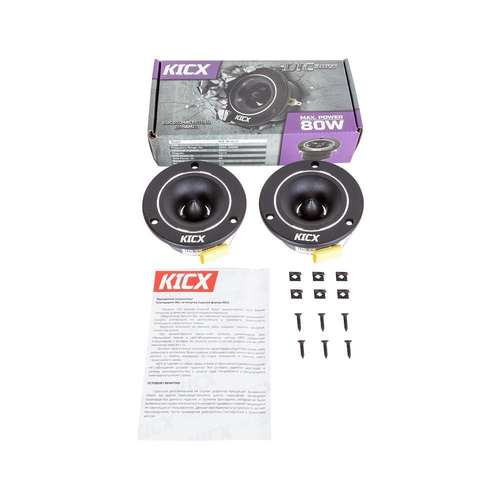 Автоакустика Kicx DTC 36 VER.2 2